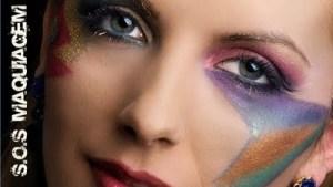 Maquiagem para uma musica de jubilo