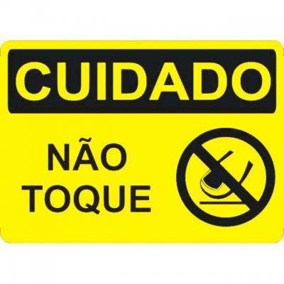 Cuidado: não toque!