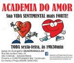 Escola do Amor - todas as sextas as 19:30 na IEQ São Cristovão